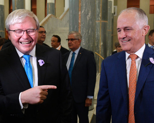 """MEDIA RELEASE: Turnbull's 30 minute cities plan is his Kevin Rudd """"Big Australia"""" moment"""