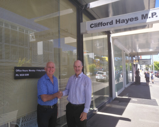 KELVIN'S BLOG: Retirement from Clifford Hayes' office