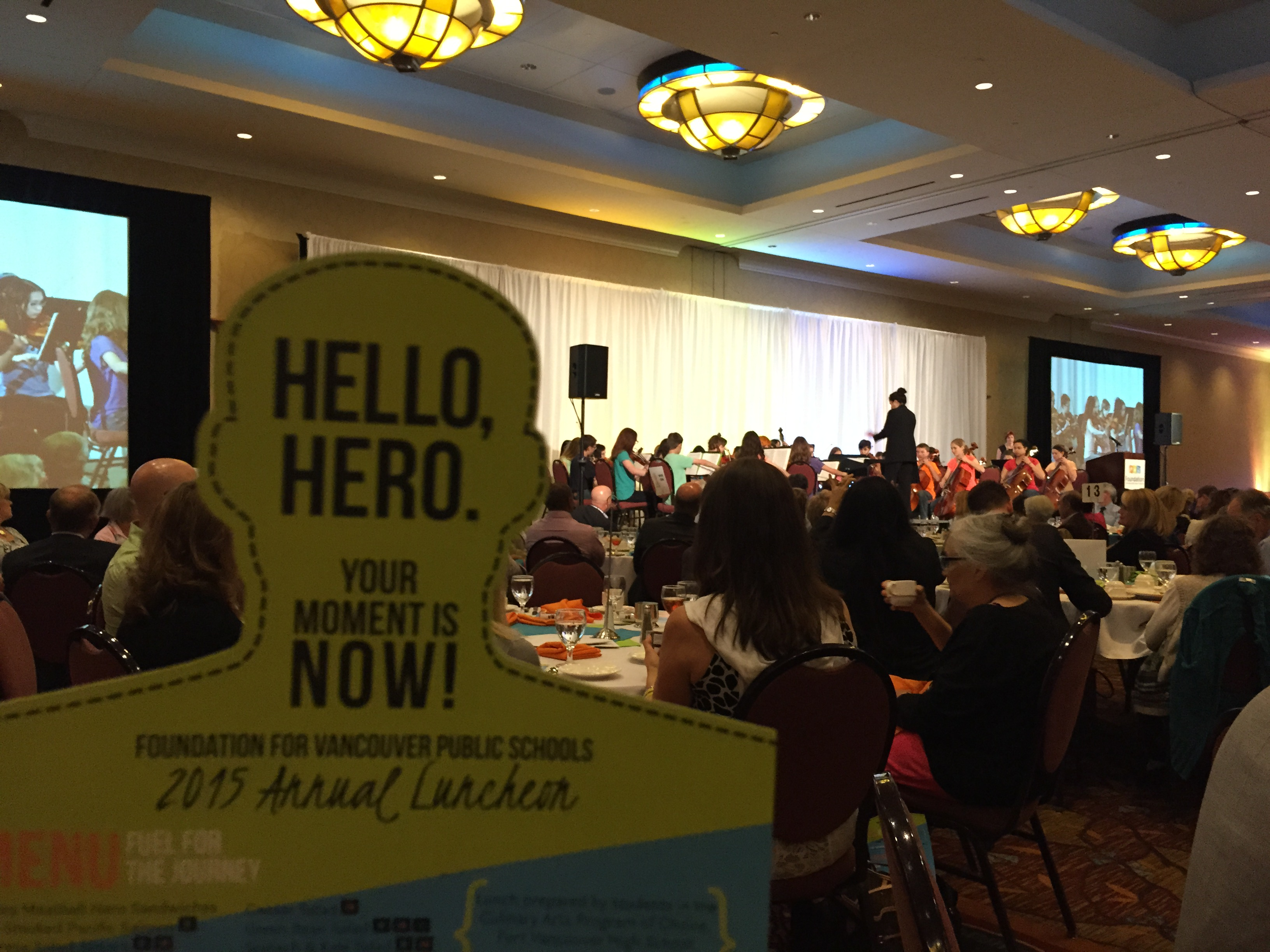 Foundation for Vancouver Public Schools Heros Luncheon