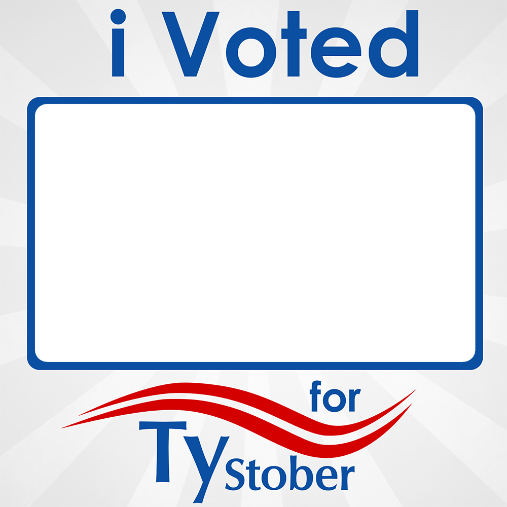 I voted for Ty Stober Photo Frame