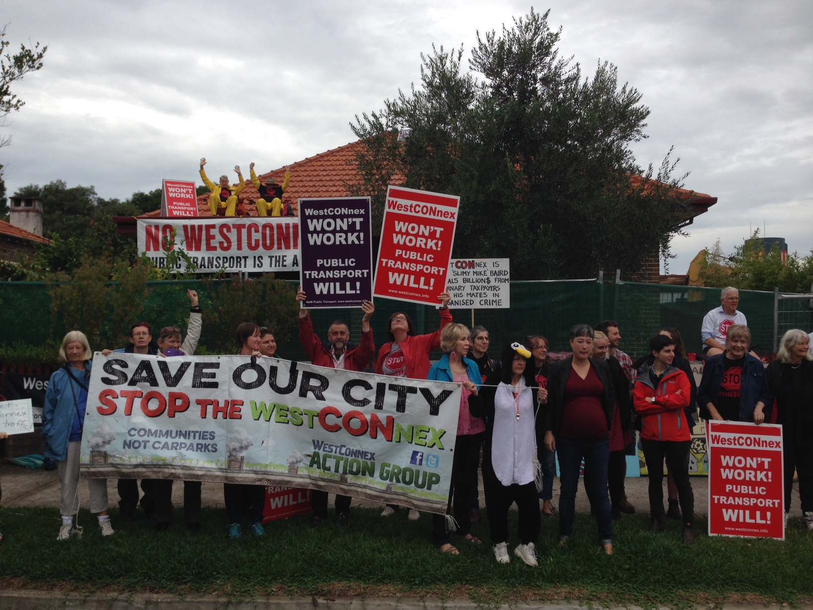 Haberfield protest