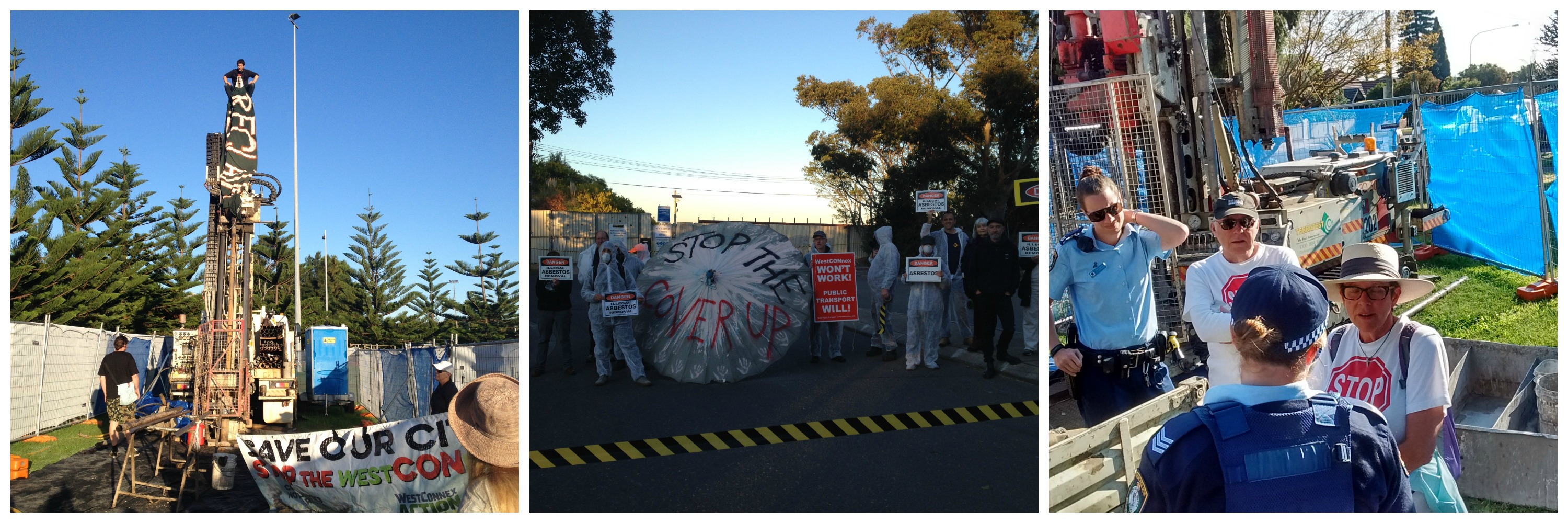 Direct actions to stop WestCONnex