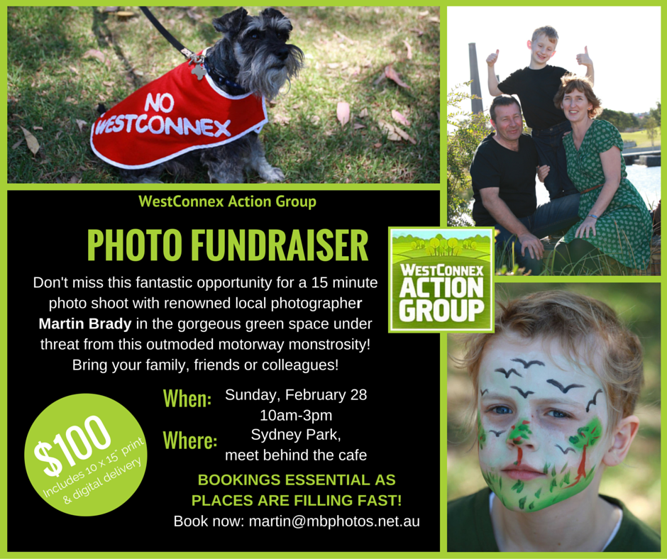 Photo fundraiser flyer