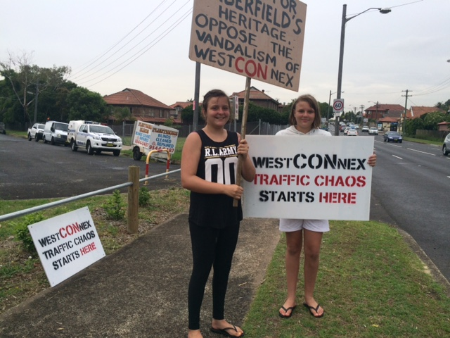 Haberfield residents stop WestCONnex works