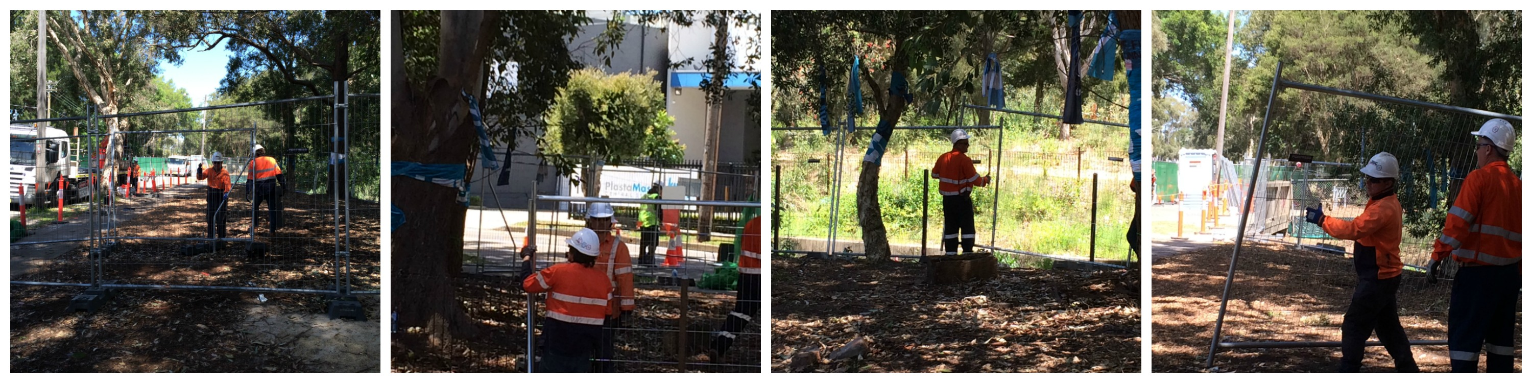WestCONnex workers pack up Sydney Park compound