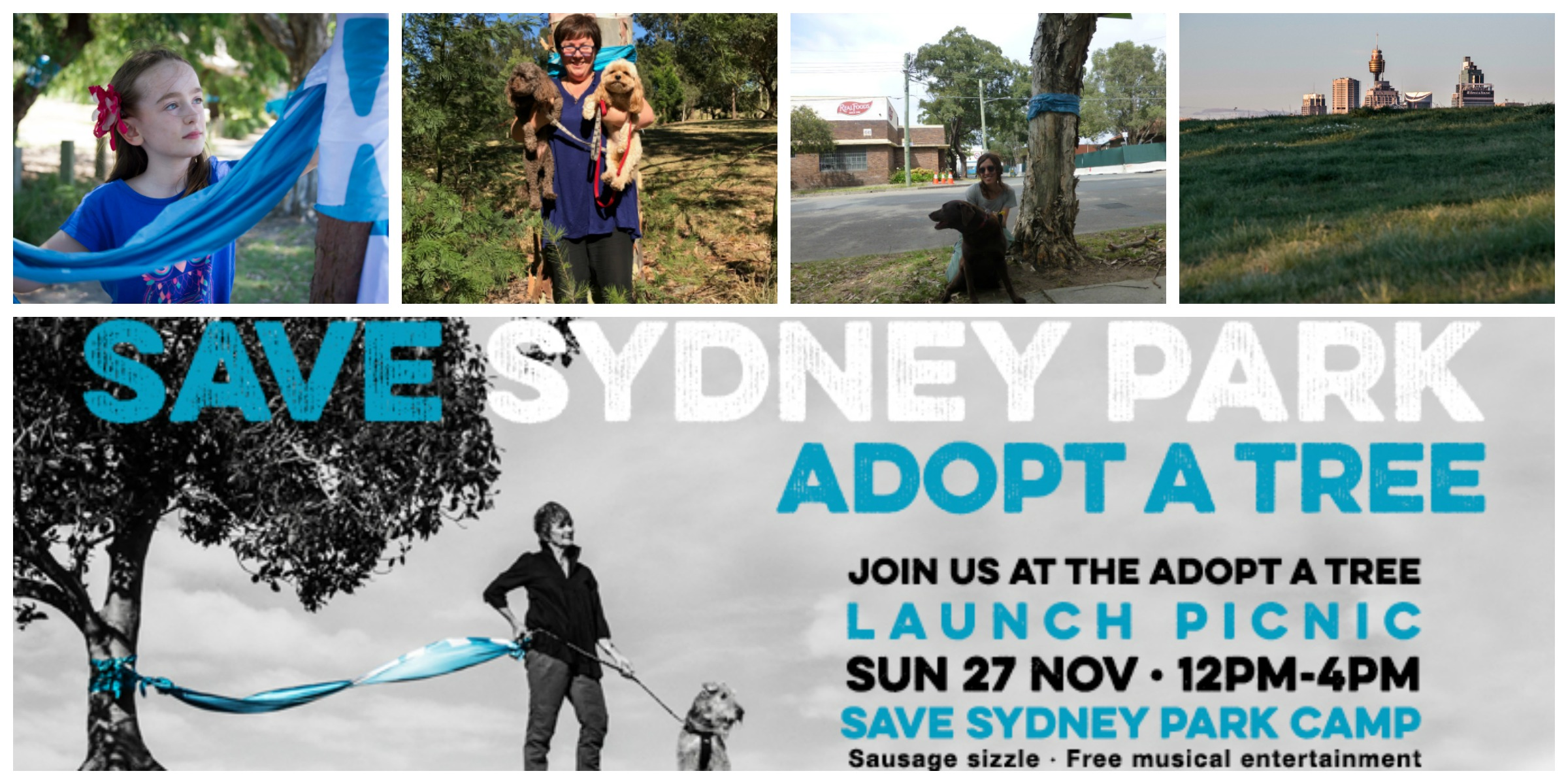 Save Sydney Park: Adopt a Tree launch
