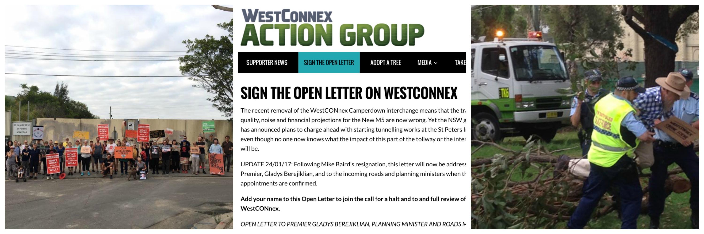 WestCONnex campaign images
