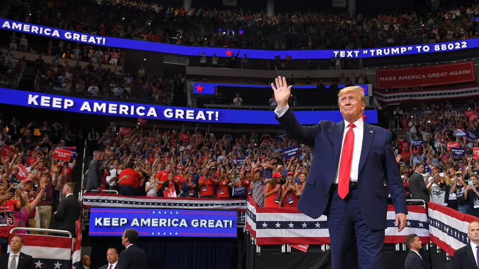 Keep America Great Again Rally with President Donald J. Trump