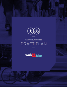 WalknBike Nashville Draft Plan Cover