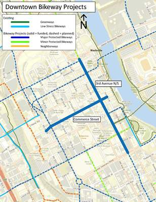 Downtown Bikeways Plan