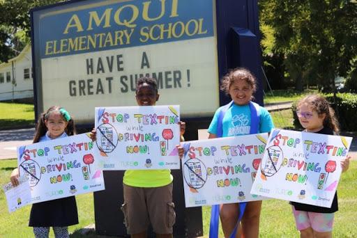 Safe Amqui yard sign winners