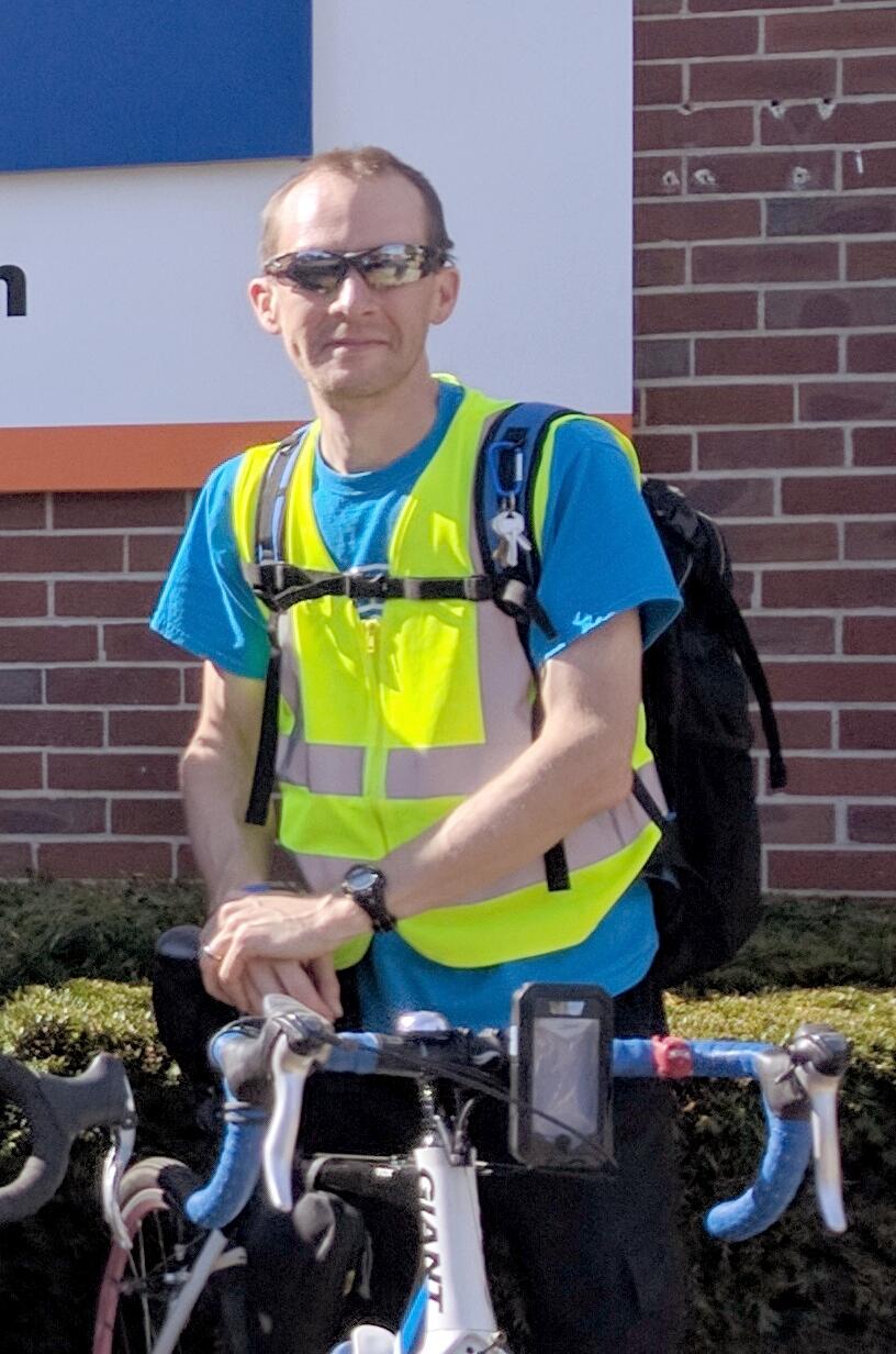 Ryan Kamper, Walk Bike Nashville Instructor of the Year