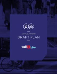 WalknBike Nashville Draft Plan Cover