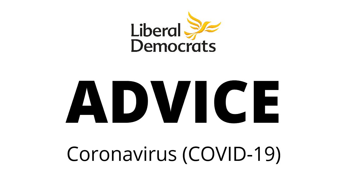 Covid-19: Advice from the Lib Dems on staying safe and helping others