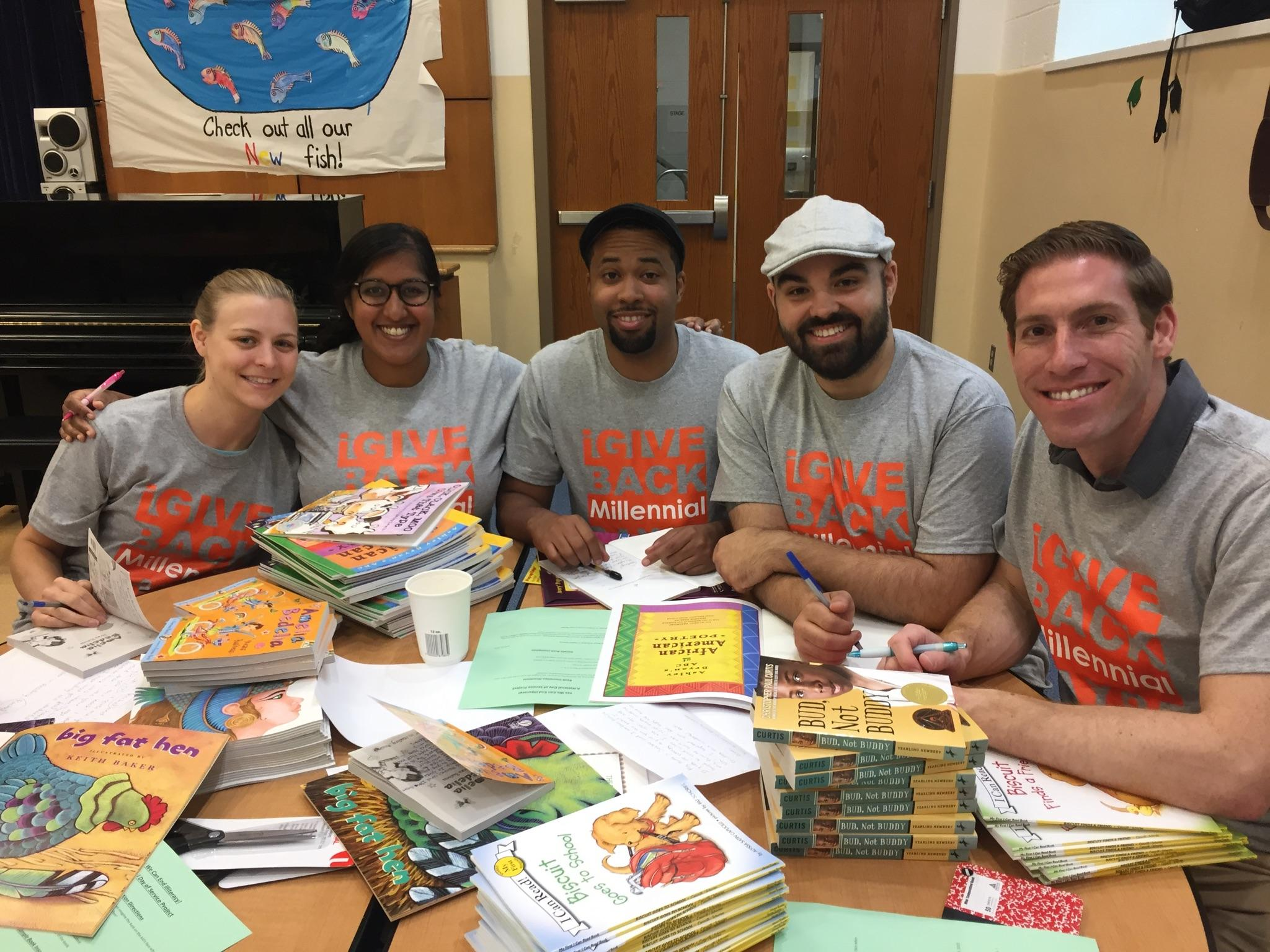 NLC DC participates in the 2015 Millennial Day of Service