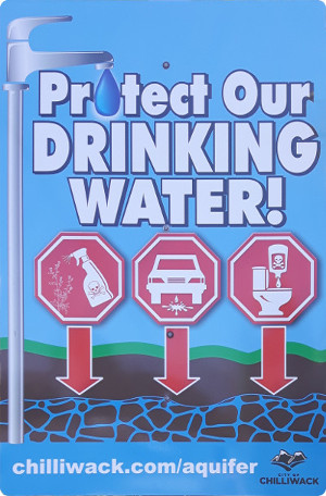 sign - protect our drinking water