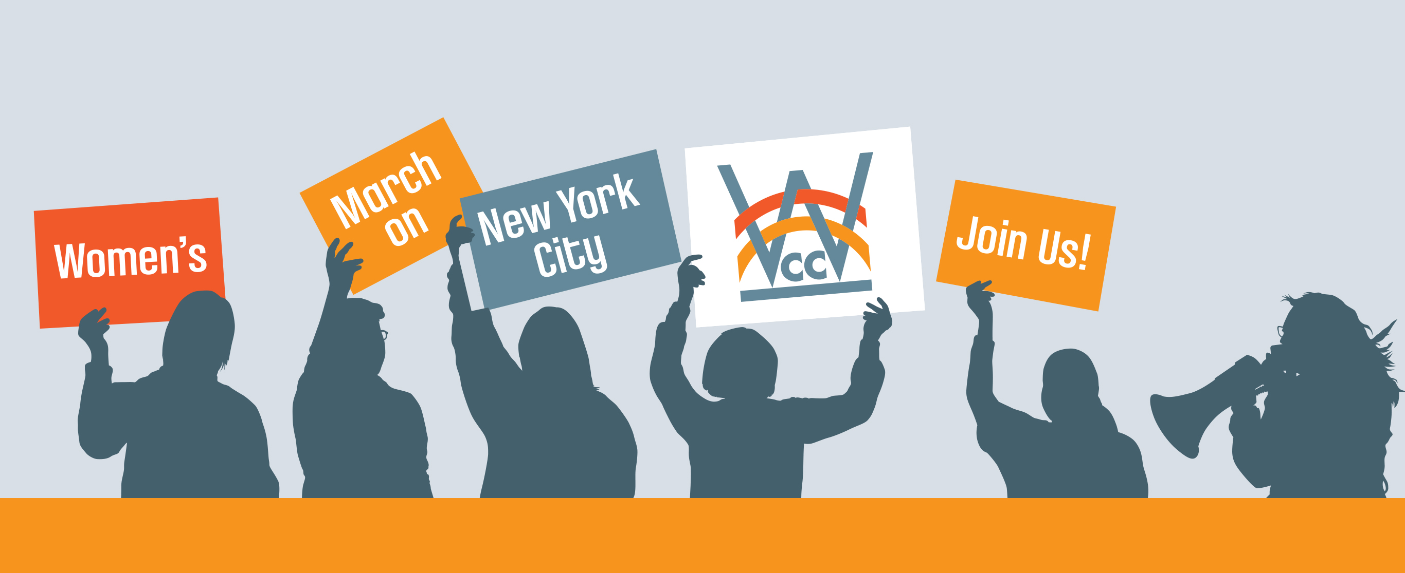 Women's March on New York City|Join WCC and march in support of equality and to promote civil rights for every human