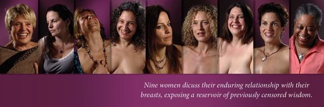 breast archives banner, featuring images of women and event info