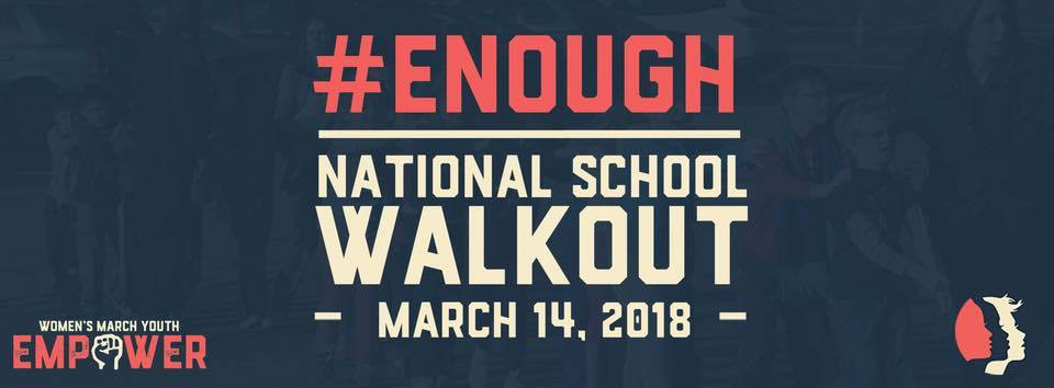 national walkout logo