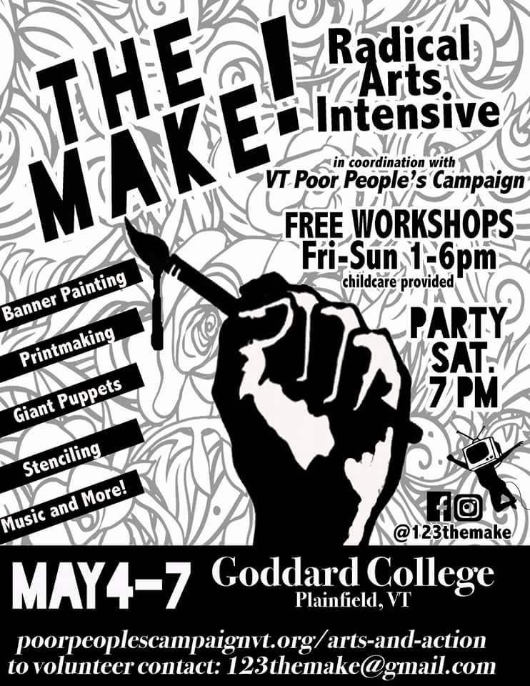 the make flyer for may day