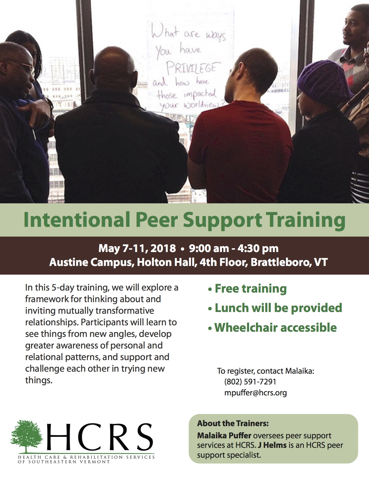tips training visual