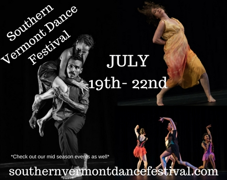 souther not dance fest details with a photo of dancers in the background