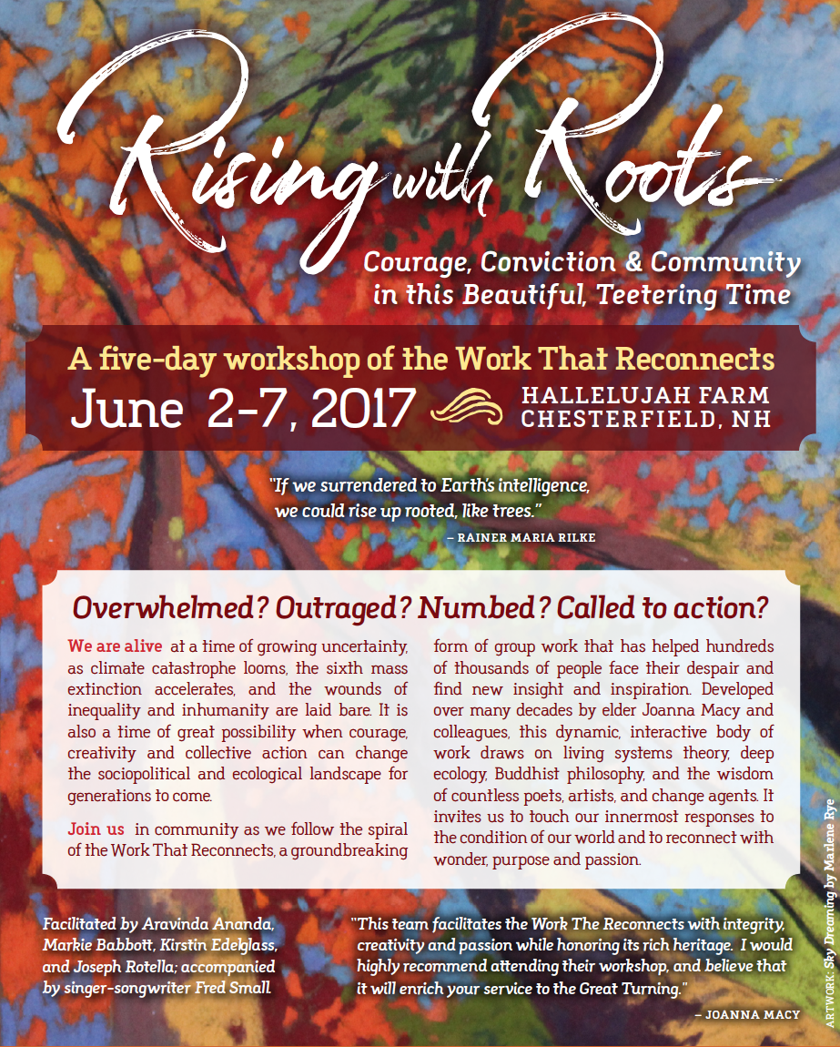 rising with roots