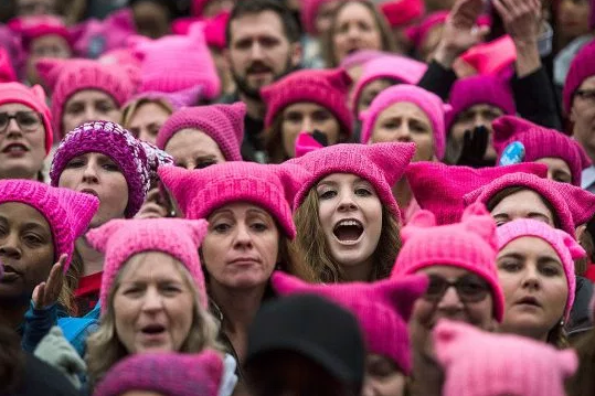 How to knit a pussy hat. Women s March on Washington D.C. and over 600  sister solidarity marches took place January 21 60b4167554a