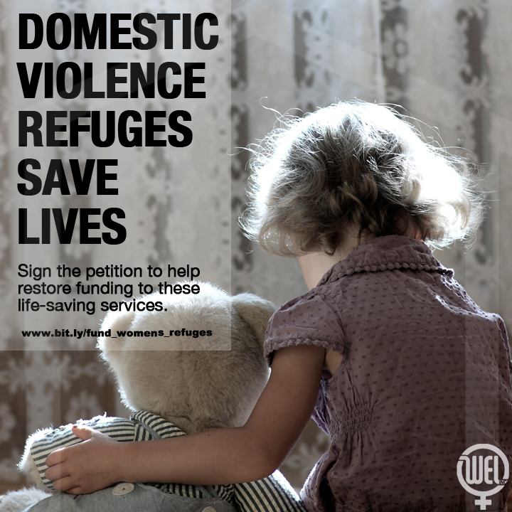 women's refuges save lives