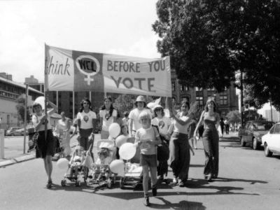 March in 1970's