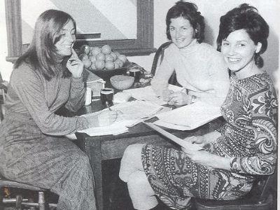 Wendy McCarthy, June Surtees, Gail Radford
