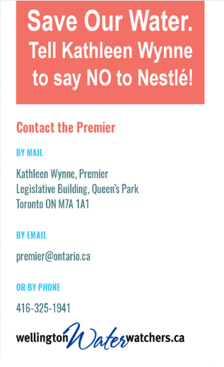 How to contact the Premier