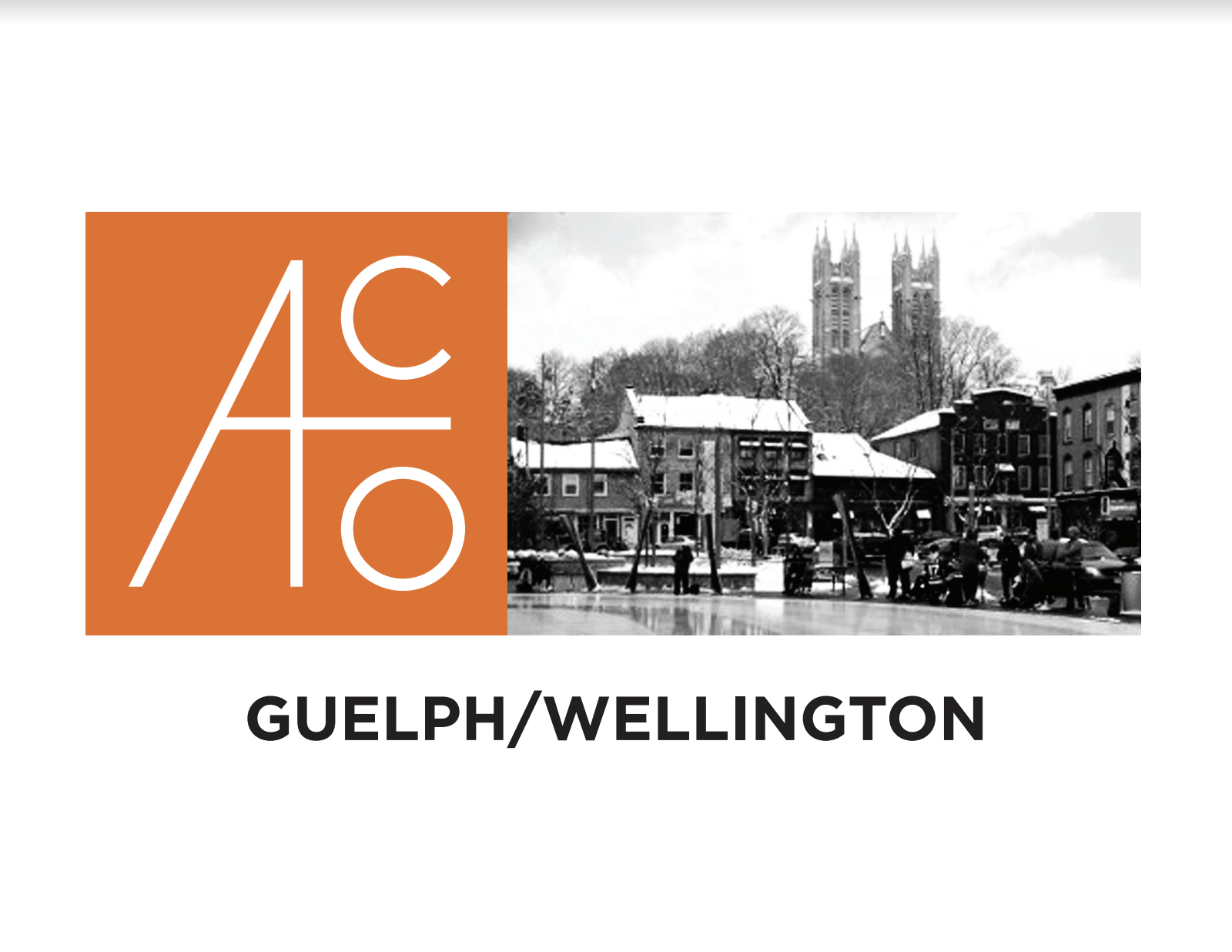 Architectural Conservancy Guelph Logo