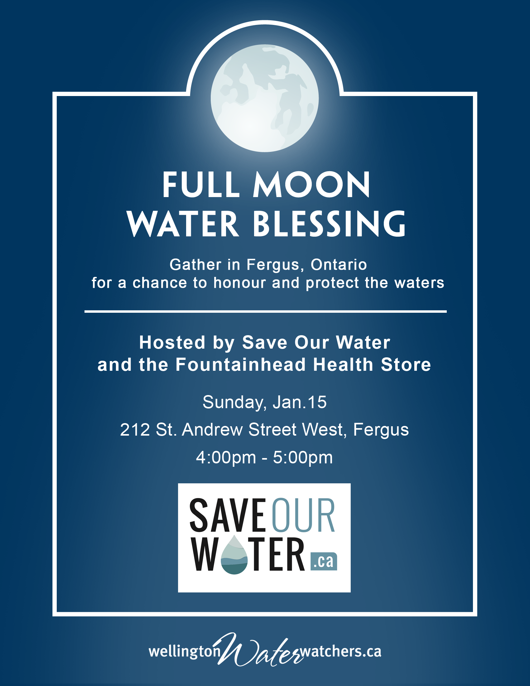 Full Moon Wate Blessing poster