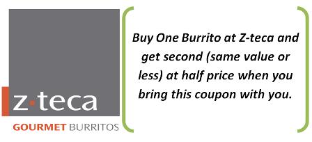 z-teca Burritos