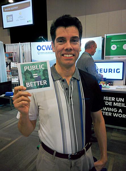 Kingston City Councillor Jeff McLaren says public = better