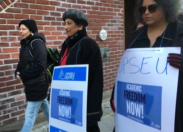 George Brown faculty strike