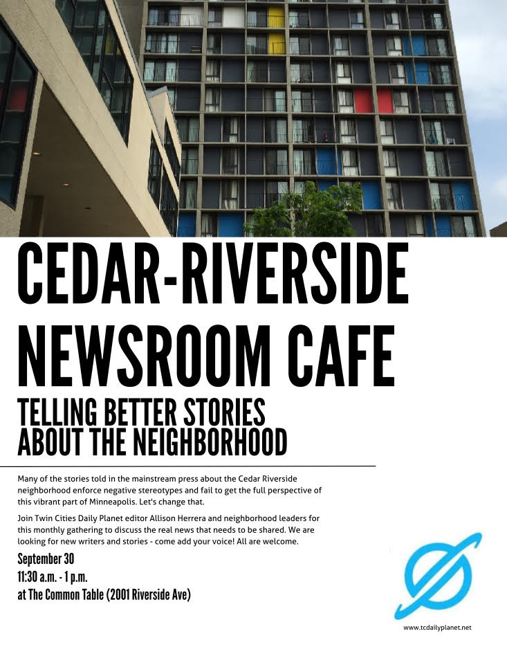Cedar Riverside Newsroom Cafe