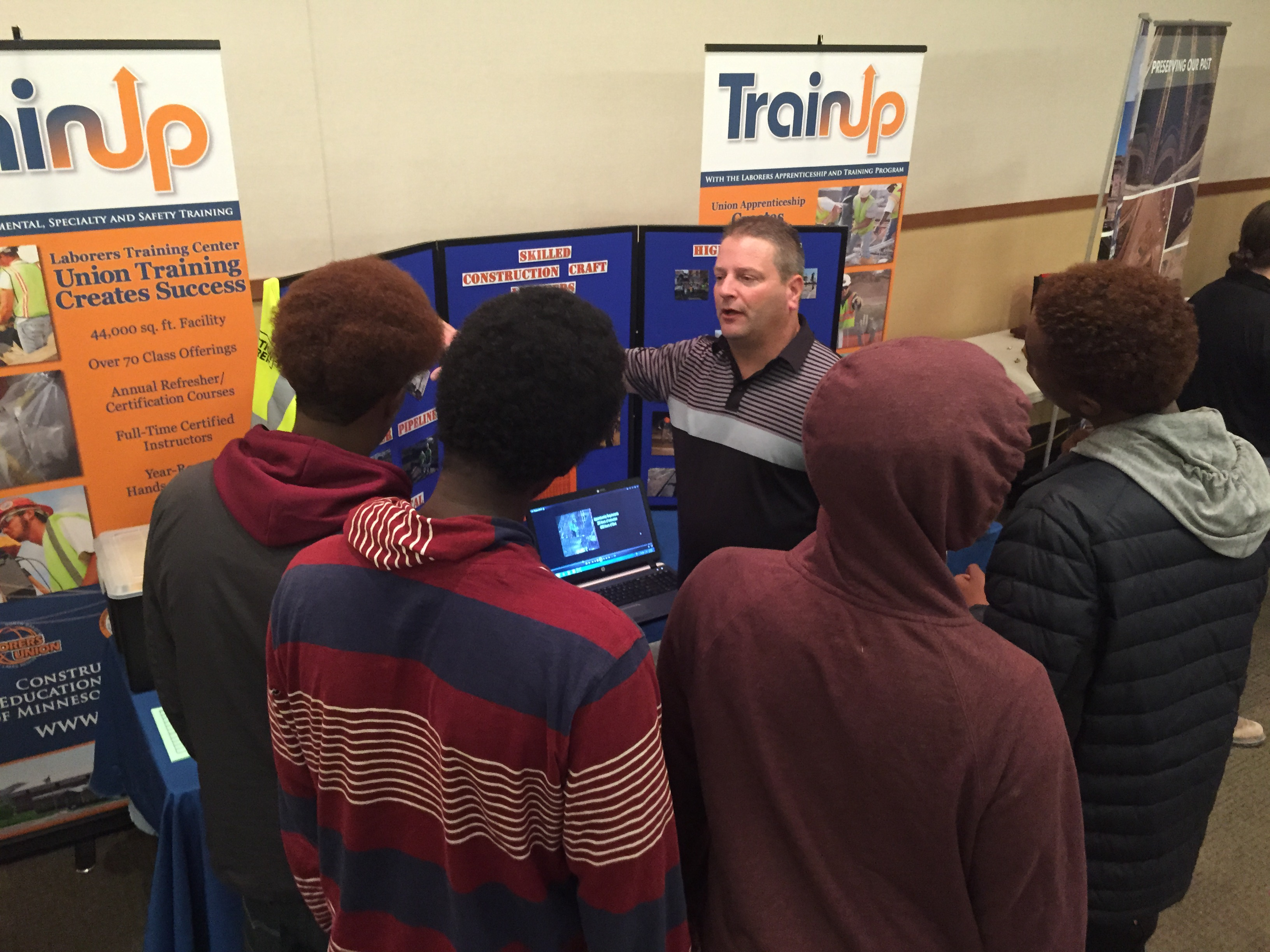 Our Youth at the 2015 Trades Expo
