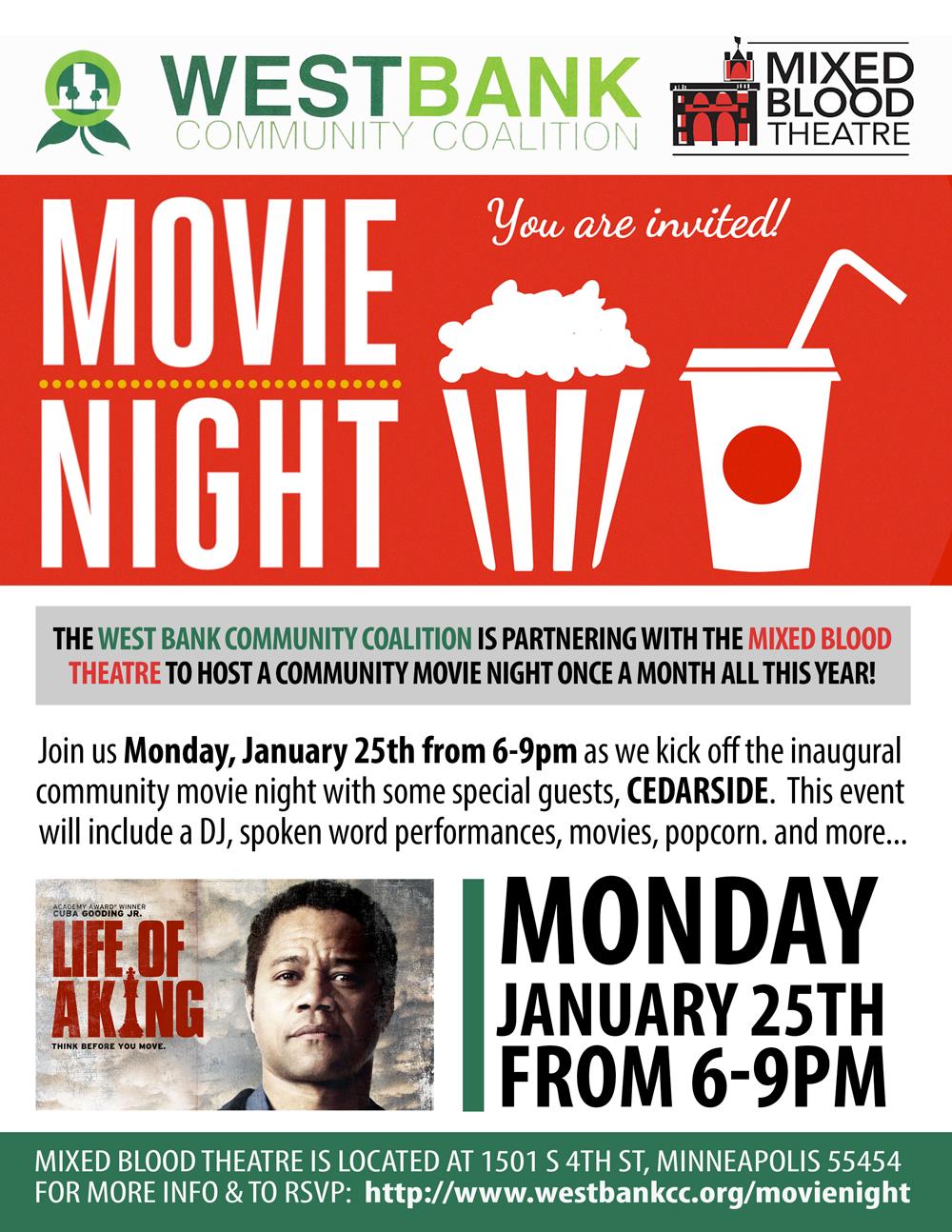West Bank Movie Night