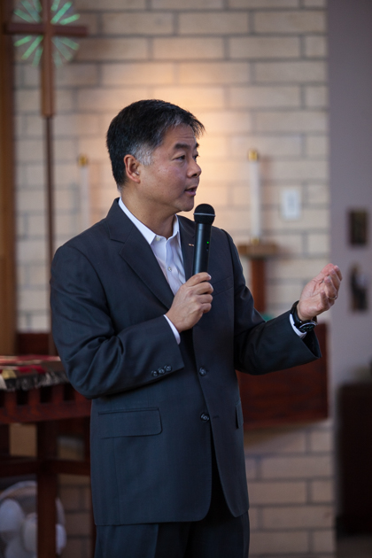 Ted Lieu holds forth