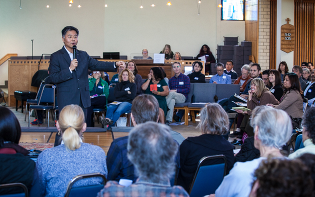 Ted Lieu Speaks to group
