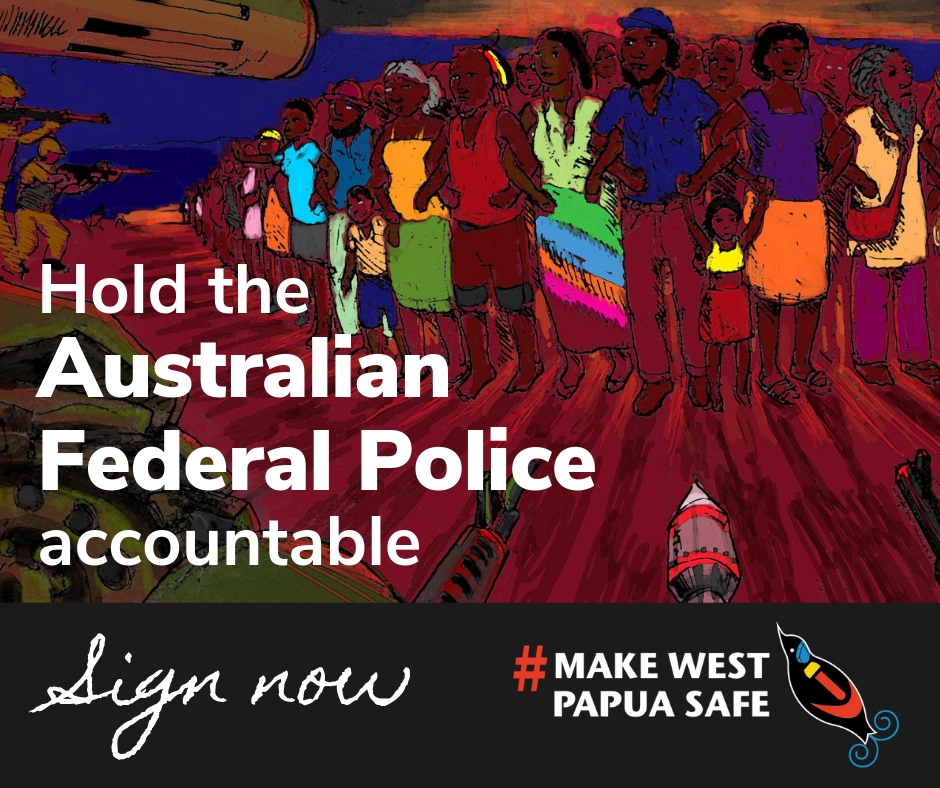 Make West Papua Safe petition