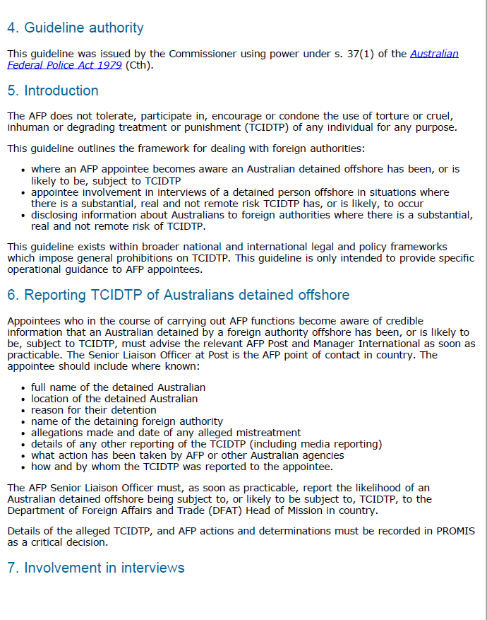 page 2 of the AFP guideline.