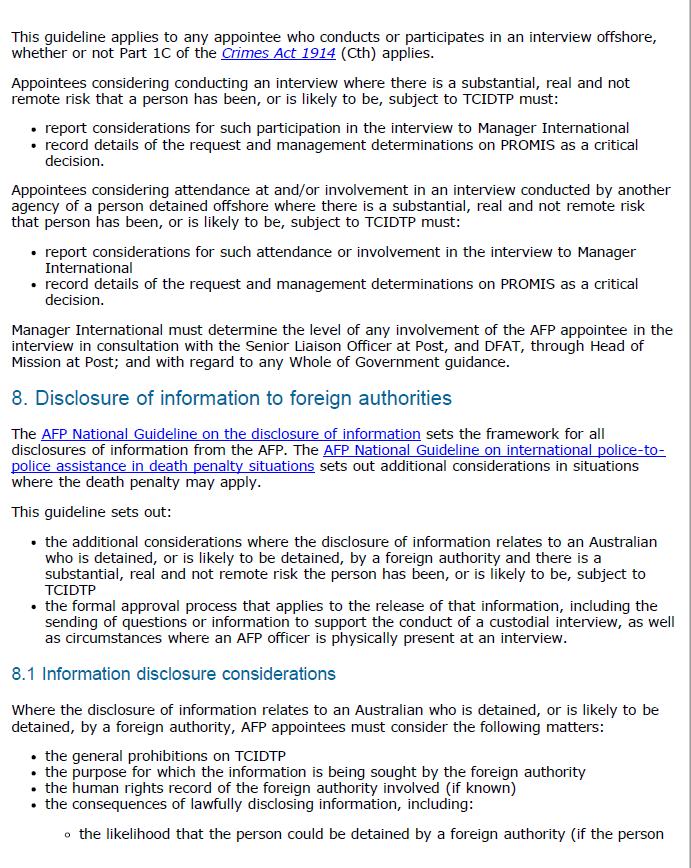 page 3 of the AFP guideline.