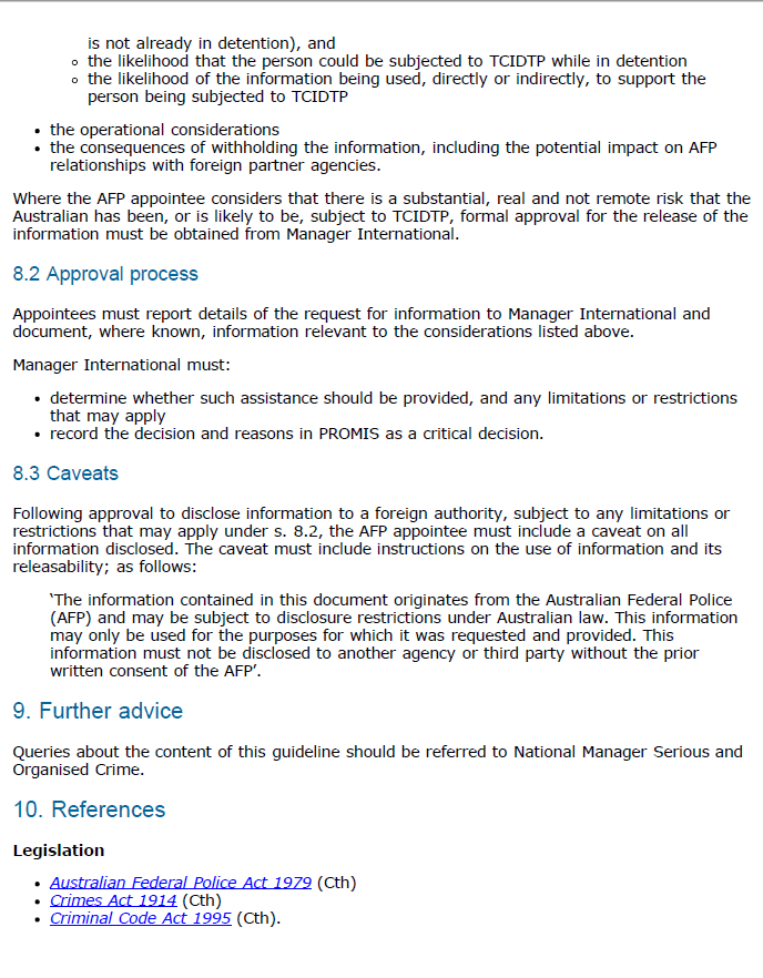 Page 4 of the AFP guideline.