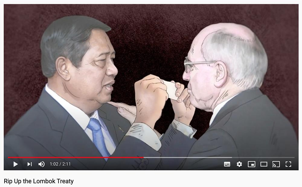 Rip Up Lombok Treaty Video Screenshot