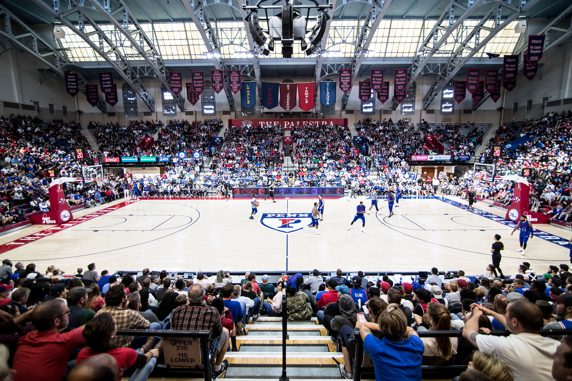 Penn vs Temple Basketball at the Palestra - Limited availability! – Saturday, January 25th
