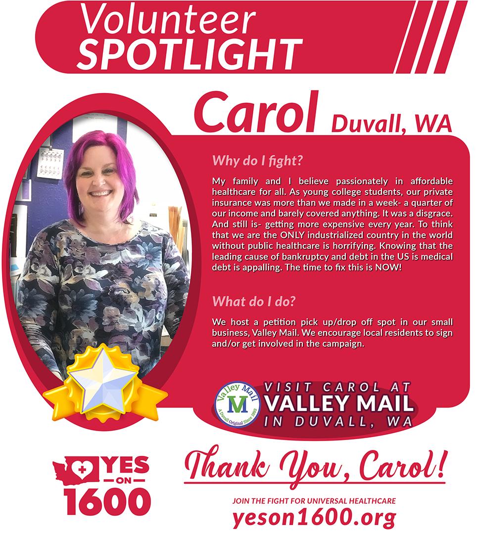 Carol from Duvall