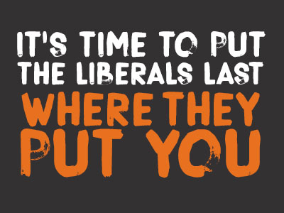 Put the Liberals Last